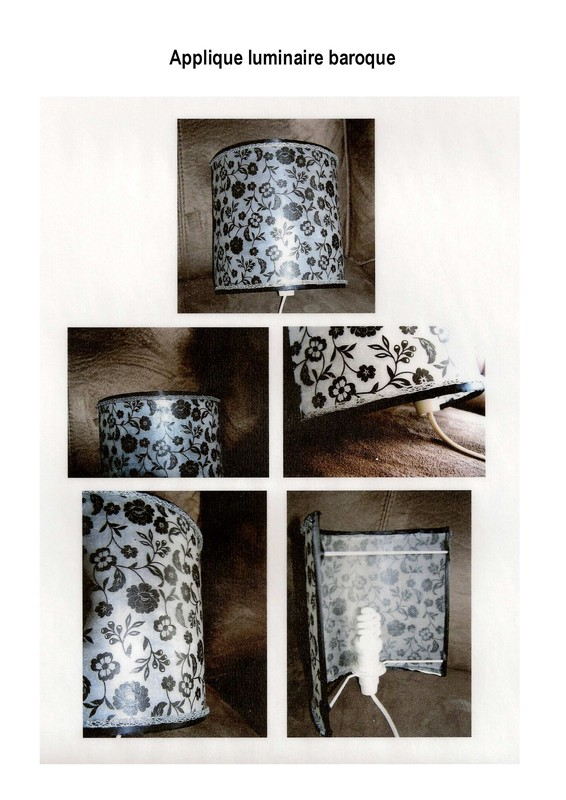 applique luminaire baroque. Black Bedroom Furniture Sets. Home Design Ideas