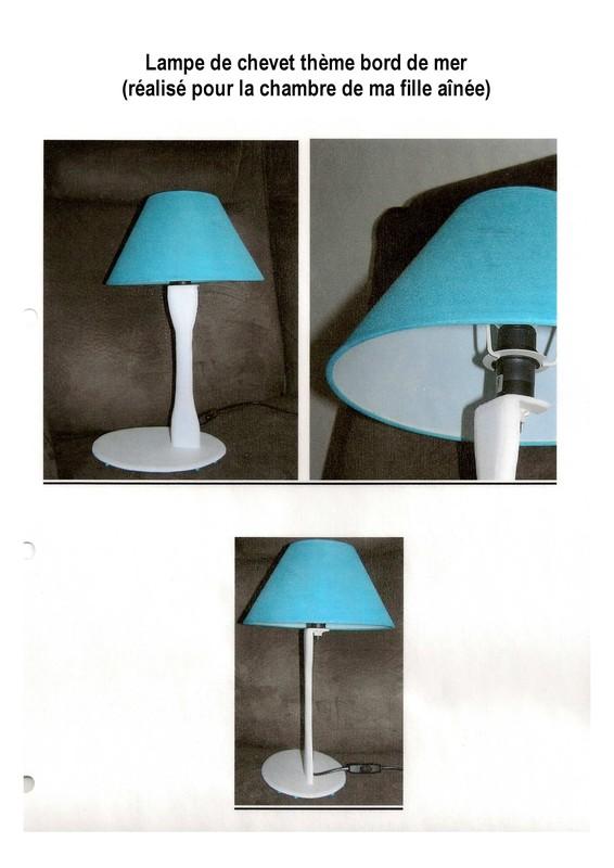 lampe de chevet ambiance plage. Black Bedroom Furniture Sets. Home Design Ideas